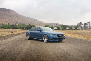 m590-satin-silver-audi-b8-a4-front _ AG