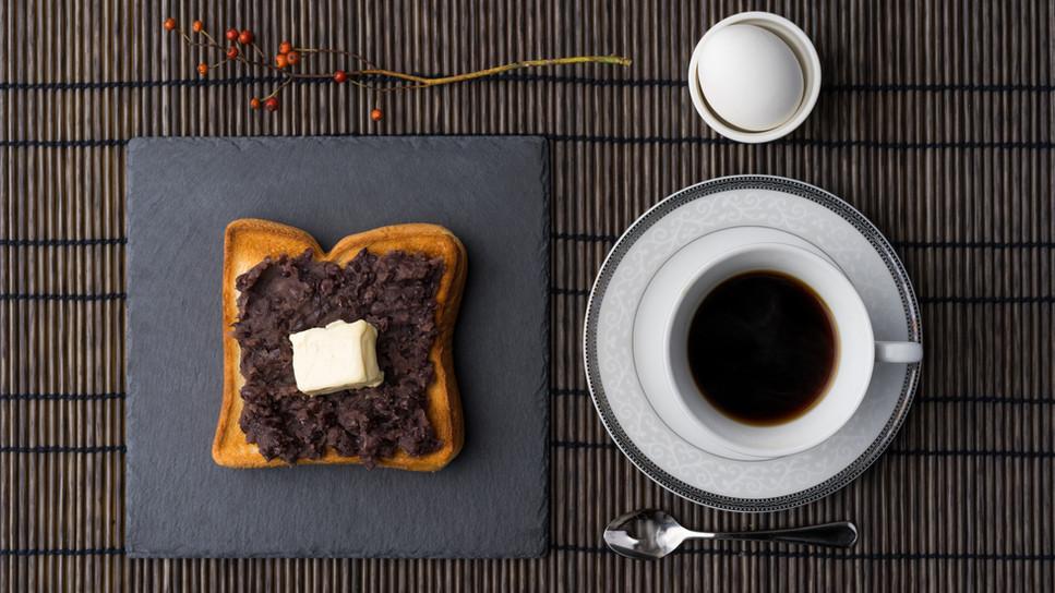 小倉トーストセット 780円