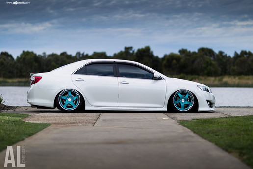 f133-brushed-turquoise-toyota-camry-side