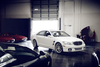 m510-satin-silver-lorinser-s-class-front
