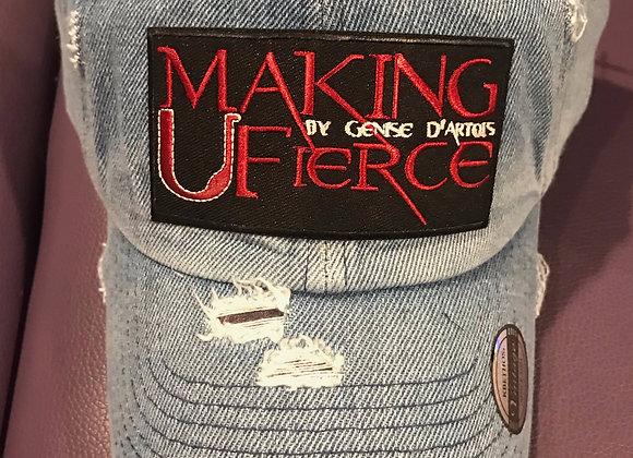 Making U Fierce Logo Hats