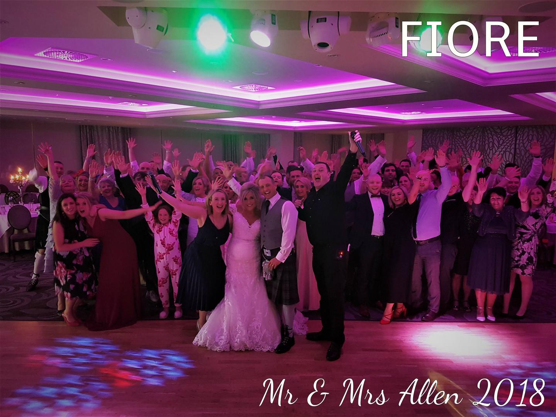 Mr & Mrs Allen 2018