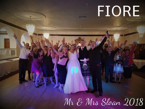 Mr & Mrs Sloan 2018