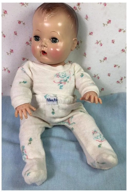 "Nitey Nite Pajamas for 11"" to 12"" Baby Dolls"