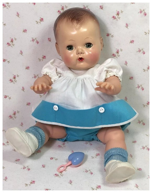 """Summer Romper Set for 13.5"""" Tiny Tears Baby"""