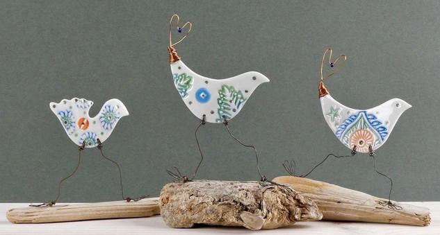 'Elsie', 'Mabel' and 'Martha' The Single Birds Club