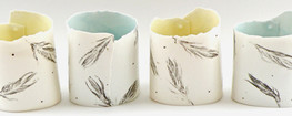 'Light as a Feather' Candleholders