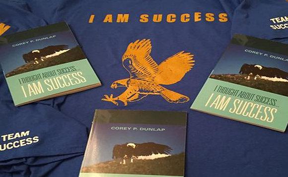 """I Am Success"" Shirt - Royal Blue"