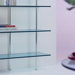 Glass shelving