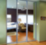 CUSTOM MIRROR WALLS & DOORS | Diamond Frameless | North Miami