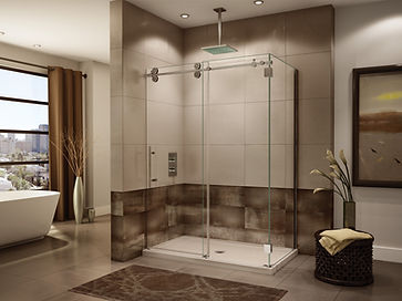 Max will install frameless glass shower doors and custom mirror walls in Weston FL.