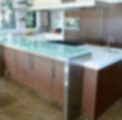 KITCHEN REMODELING - Frameless Glass -  Tables & Countertops - Cooper City