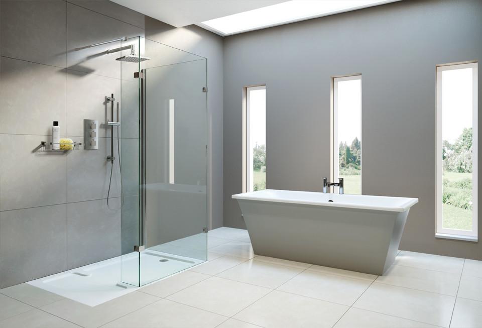 Shower glass encloser
