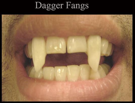 Dagger fangs