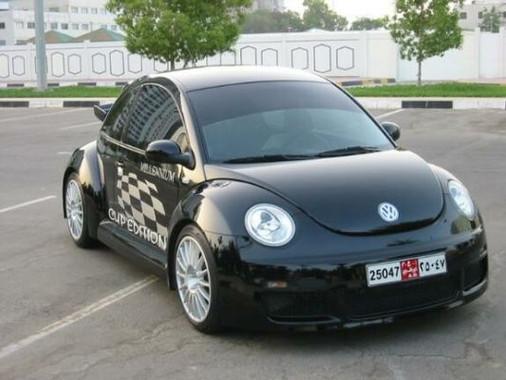 Millennium Beetle Schwarz