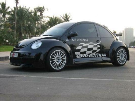 Millennium Beetle Schwarz - AUH