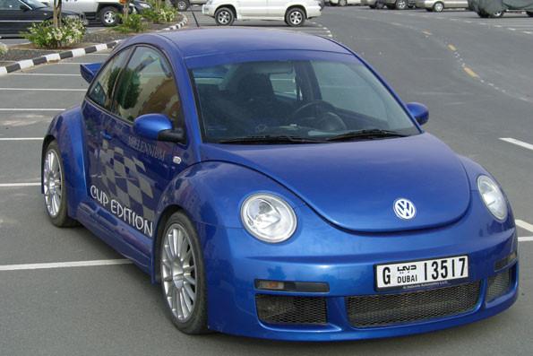 Millennium Beetle Technoblau