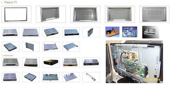 Set top boxes moulds