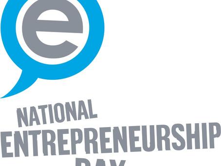 National Entrepreneurs Day!