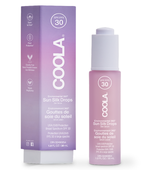 Full Spectrum 360° Sun Silk Drops Organic Sunscreen SPF 30