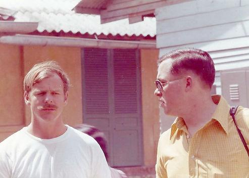 Bill Chandler & Cleon Justice Team 88 MACV