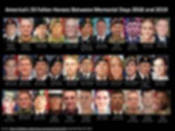 America's 33 fallen heroes 6/18 - 5/19