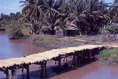 Tre Bong Bridge Ham Long District