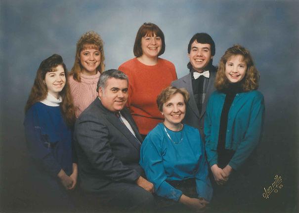 Warren chandler family portrait 1989