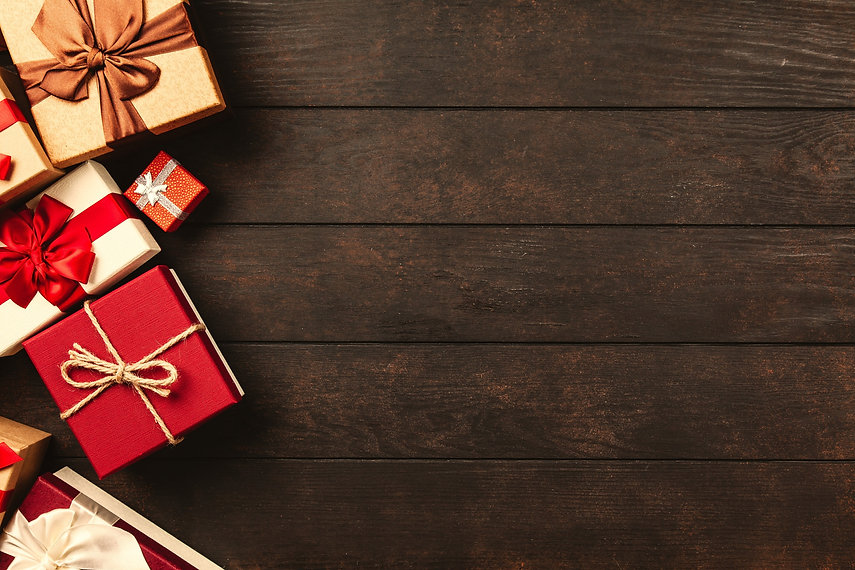 red-white-and-brown-gift-boxes-christmas