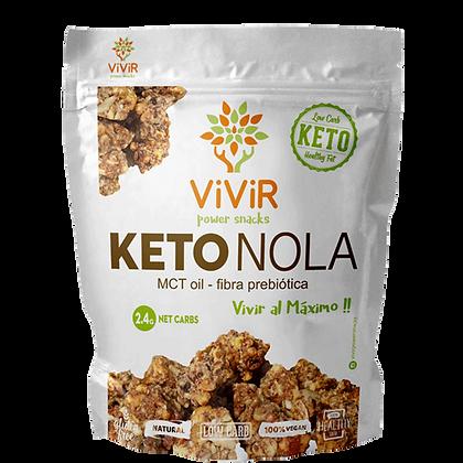 KetoNola Granola con MCT oil sin azúcar