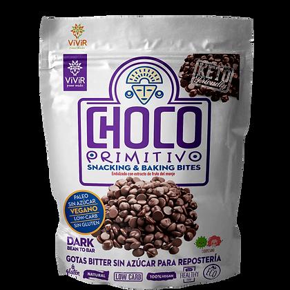 Gotas de Chocolate bitter sin azúcar