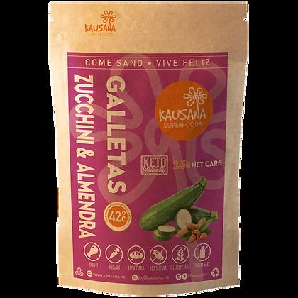 Galletas de Zucchini 2.3g Net Carb