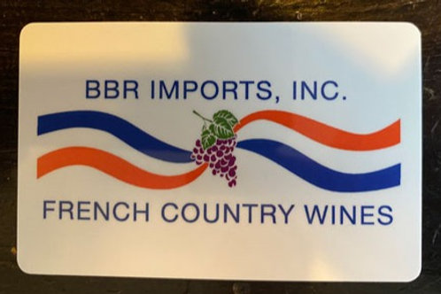 French Country Wine  - Gift Card $150 (2 cartes disponibles)