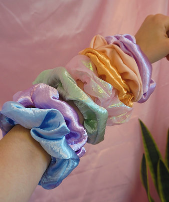 Oversized Scrunchies - Handmade