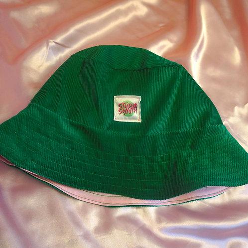 Green & Pink Bucket Hat