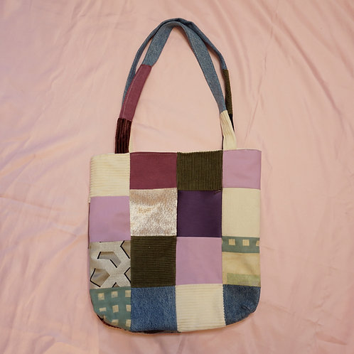 Patchwork Multicoloured Tote Bag