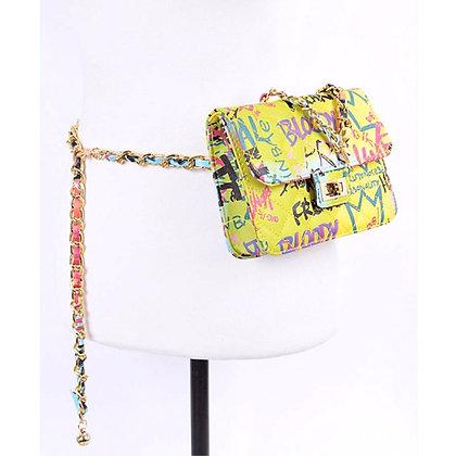 Graffiti Belt Fanny Pack