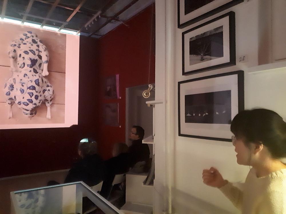 Ming Lu, Art Talk, Haze Gallery Berlin