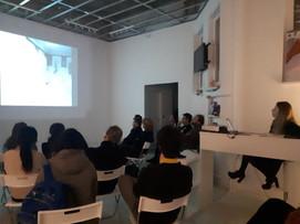 Artists Talk at Haze Gallery in Berlin