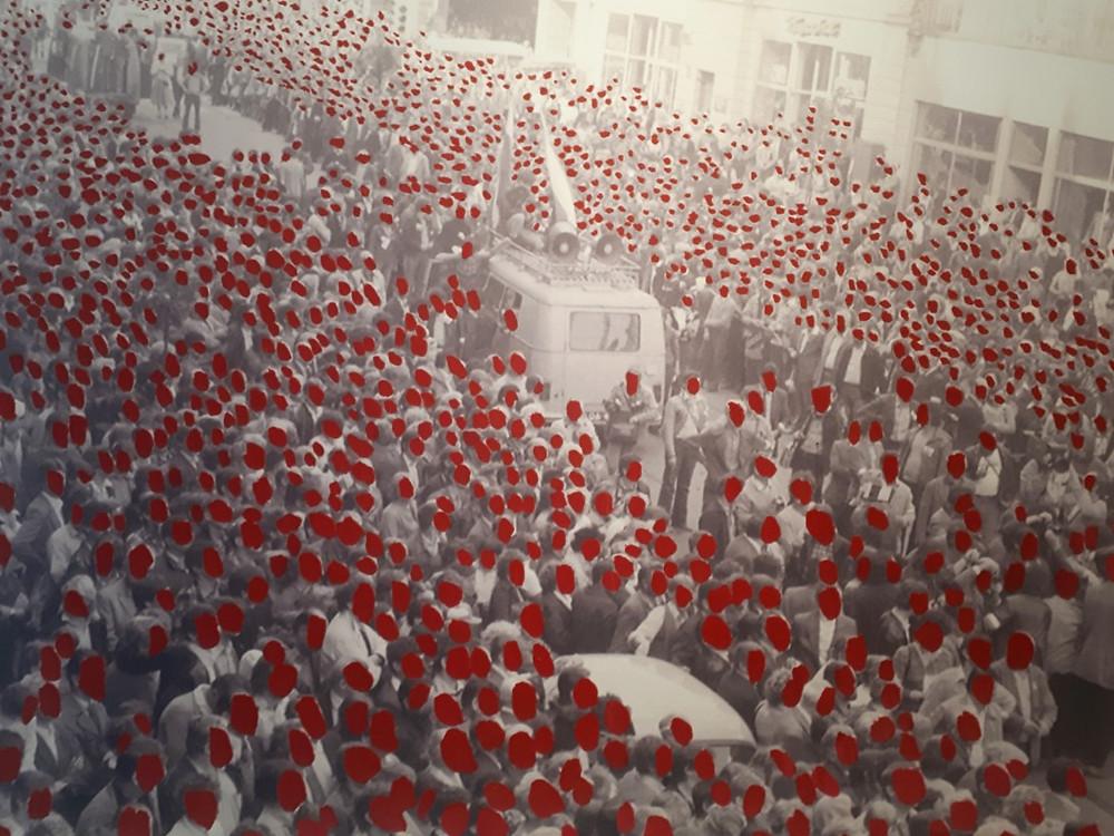 Galerie aKonzept & Raphael Levy_Ryszard Wasko Hunger March in Lodz, Poland 1981