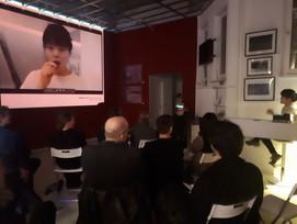 Artists´s Talk at haze Gallery Berlin