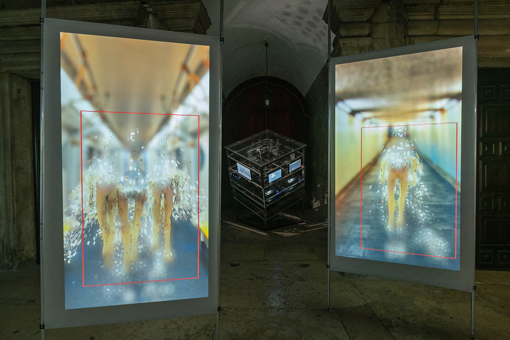 Shu Lea Cheang, 3X3X6, mixed media installation c Shu Lea Cheang. Courtesy of the artist and Taiwan in Venice 2019