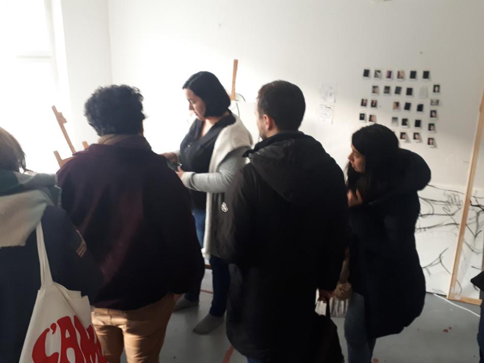 Studio visit of visual artist Artist Emi Brener