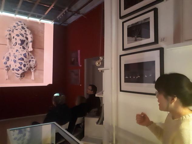 Artist´s Talk by Ming Lu at Haze Gallery Berlin