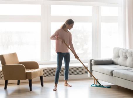 Como higienizar os pisos vinílicos!