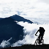 Mountain Biking in the Fog.webp