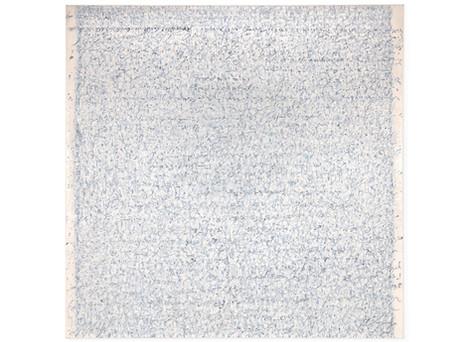 "Document 78x77"" oil on canvas 1992-1994"