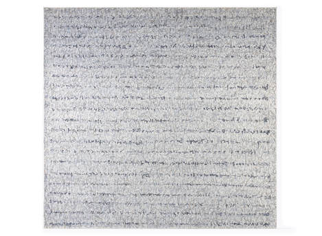 "Sentence 78x74"" oil on canvas 1992-1994"