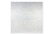 """The World is as Soft as Lace 77x77"""" oil on canvas 1992-1994"""