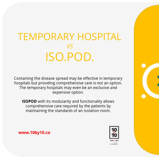 Temporary Hospital v/s ISO.POD